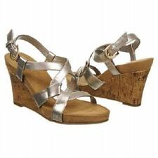 Aerosoles Plush Up strappy wedge sandals motown 10 Med  NEW