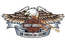 HARLEY DAVIDSON STICKER LARGE 240mm WIDE NEW motorcycle sportster