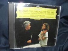 Mozart – Violinkonzerte Nr. 3 & 5 -Anne-Sophie Mutter / BP / Karajan