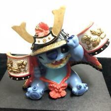 Disney Lilo & Stitch Japanese Doll Style figure Polyresin Samurai HTF RARE