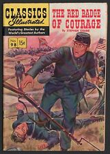 Classics Illustrated #98 Hrn 98 F 6.0 Ow/W Red Badge of Courage Original Ed