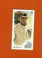 2019 Topps Allen & Ginter Mini Luis Severino #140 New York Yankees