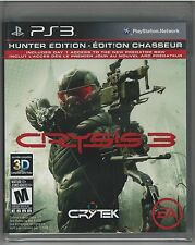 Crysis 3 -- Hunter Edition PlayStation 3 *NEW**SEALED*