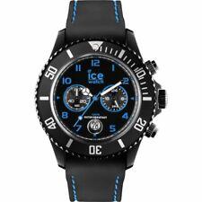 Ice Watch Chronograph Chrono Drift 44 mm - Icewatch Schwarz Blau Uhr Herren Groß