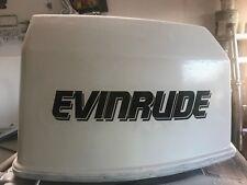 2 - Evinrude V6 175 hp Outboard decals marine vinyl  this set black