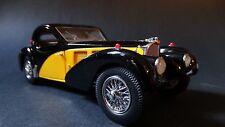Franklin Mint 1936 Bugatti Type 57 SC Limited Ed. 1:24 Scale Diecast Model Car