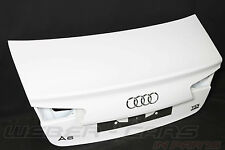 Audi A6 4G LIMO Heckklappe Kofferraumdeckel Heck Deckel IBIS WEIß rear lid flap