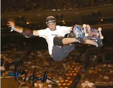 TONY HAWK signed SKATEBOARD X GAMES STAR 8x10 photo w/ COA