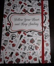 KIKI'S DELIVERY SERVICE HOT TOPIC FOLLOW YOUR HEART & KEEP SMILING JOURNAL  EUC
