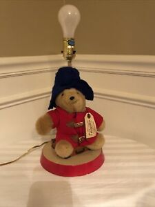 Paddington Bear Lamp by Eden Toys 1993 14 1/2 Inches Works