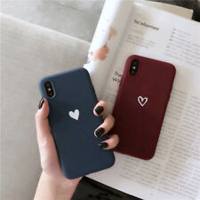 Matte Soft TPU Back Phone Case Slim ShockProof Cover For iPhone XS MAX XR 7 8 6s