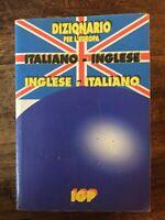 Dizionario italiano-inglese, inglese-italiano - tascabile