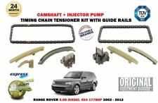 FOR RANGE ROVER 3.0D 177BHP 2002-2012 NEW CAMSHAFT + INJECTOR TIMING CHAIN KIT