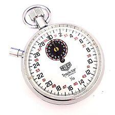 Vintage Heuer Trackstar 1/10 7 Jewel Size 19 Stop Watch Pocket Watch