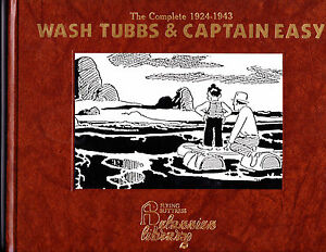 "Wash Tubbs & Captain Easy Vol 10-1990-Strip Reprints Hard Cover-"" 1935-1936 """