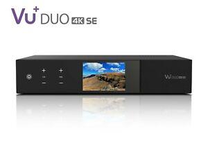 Vu+ Duo 4K SE 1x FBC Twin DVB-S2X Tuner PVR ready Linux Receiver UHD 2160p