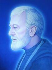 Mondo Mike Mitchell Obi Wan Kenobi Print Star Wars Portrait Signed Limited Ed