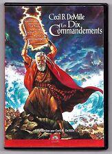 COFFRET 2 DVD / LES DIX COMMANDEMENTS - CECIL B. DEMILLE