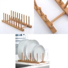 Escurreplatos de Madera 34x12x12,5 cm, cocina, hogar, decoración, original