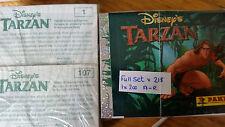 TARZAN FULL SET OF STICKERS X218