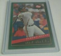 ALBERT BELLE CLEVELAND INDIANS OUTFIELD 94 COLLECTION BASEBALL CARD 1994 NM 9.0
