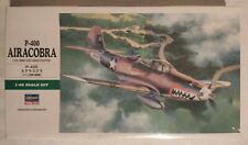P-400 AIRACOBRA U.S ARMY AIR FORCE FIGHTER HASEGAWA MAQUETTE 1/48 REF JT92