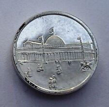 Franklin Mint Sterling Silver Mini-Ingot: 1853 World's Fair Crystal Palace