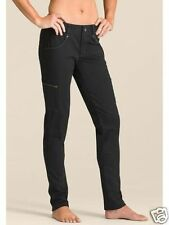 Athleta Nopa Pants Black Organic Cotton Spandex Skinny Hike NWT $89 4 x 32