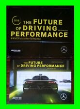 NEW *RARE* GENUINE 2018 MERCEDES AMG PROJECT ONE F1 RACING GIANT POSTER CALENDAR