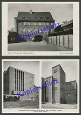 Brugmann Nürnberg Architektur Straßenbahn Gaswerk Tankstelle Auto-Garage 1929