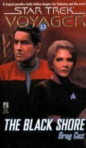 Star Trek: Voyager - Black Shore by Greg Cox (Paperback, 1997) FREE SHIPPING