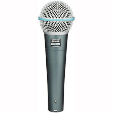 Shure Beta 58A Handheld Live Stage Studio Recording Dynamic Mic Vocal Microphone