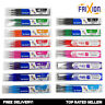 Pilot FriXion Erasable Rollerball Pen REFILLS - Set of 3 - All Colours, All Nibs