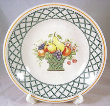 Villeroy Boch Basket Bowl Fruit Dessert 1160 Green Lattice Weave Vegetable Sauce