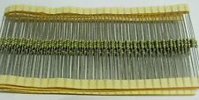 pack of 200 4M7 1% 0.6W Eurohm MF60-4M7 metal film resistors 0.25W size