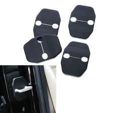 4x Door Lock Safety Striker Trim Protective Cover Kit for Jeep Compass 2008-2015