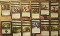 HEROES OF THEROS Complete Custom MTG Deck   Green   Magic the Gathering