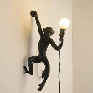 Monkey Table Light Resin Desk Accent Lamp for Children's Living Room Bedside Bar
