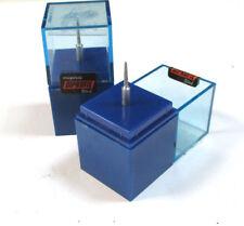 2 Diamant schleifstift DIPROFIL rundkegel kopfø 1,6/0,8x9 ∠ 5 ° de JOKE NEUF h21423