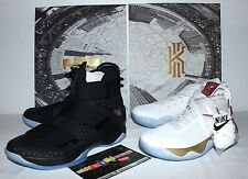 Nike Air Lebron X 10 Kyrie 2 Game 3 HomeComing Black Gold Sneakers Mens Size 9.5