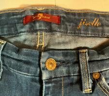 7 Seven For All Mankind Jiselle Slim Flare Jeans Dark Wash Size 27