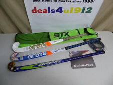Field Hockey Sticks Lot Of 3 Brine Grays All Very Good Pre Owned Condition Bag