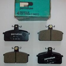 AUTOBIANCHI A112 - A112 ABARTH/ PASTIGLIE FRENO ANTERIORI/ FRONT BRAKE PADS