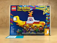 LEGO THE BEATLES YELLOW SUBMARINE 553 PIECES BUILDING TOY 21306 MINIFIGURES NEW