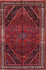 "Great Deal Geometric 7x10 Hamadan Persian Oriental Area Rug Wool 10' 0"" x 6' 6"""