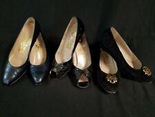 Vintage Salvatore Ferragamo Italy Lot of Three Women's Shoes Size 5.5