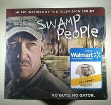 Original Soundtrack - Swamp People CD with Shirt NEW