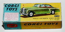REPROBOX Corgi Toys n. 224-BENTLEY CONTINENTAL SPORTS SALOON