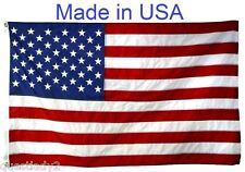 US Flag Factory 3'x5' American Flag Outdoor Nylon SEWN Stripes PRINTED Stars -PE