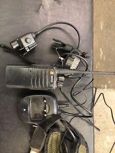 Mitex Site High Power two way radio, 2 Units + 2 X PTT & Bowman Headset